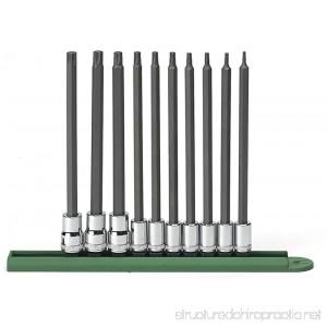 GearWrench 80588 10 Piece Long Torx Set (T8-T50) - B001M0O18Y