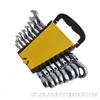 Gunpla 8 Pieces 8-17mm Flexible Head Combination Ratcheting Wrench Spanner Set Metric - B0722DQZFR