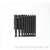 Bondhus 10899 Set of 9 Balldriver Power Bits sizes 2-12mm - B000E7ZPUE