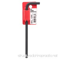 Bondhus 15768 6mm Ball End Tip Hex Key L-Wrench with ProGuard Finish Tagged and Barcoded Long Arm - B000V4QE4G