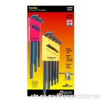 Bondhus 20599 0.050-3/8-Inch and 1.5-10mm Stubby Ball End Hex Key Double Pack - B0006O4AII