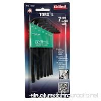 Eklind 10907 7 Piece Long Series Torx L-Key Set with Holder Torx Sizes: T10 - T40 - B0002JT0A0