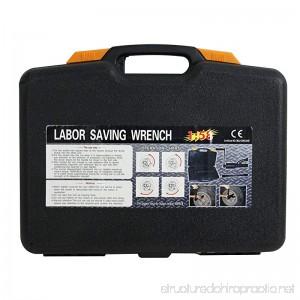 ZENY Heavy Duty Torque Multiplier Wrench 4800N/M Labor Saving Lug Nut Wrench W/8 Cr-v Socket 3540 lb-ft - B01MS8MS4K