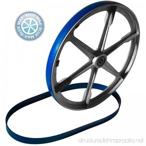 New Heavy Duty Band Saw Urethane 2 Blue Max Tire Set REPLACES CRAFTSMAN TIRE BS90104201 - B07G2W1BSP