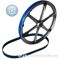 New Heavy Duty Band Saw Urethane 2 Blue Max Tire Set REPLACES SEARS BAND SAW TIRE 3AE01701 - B07G2R8GX8