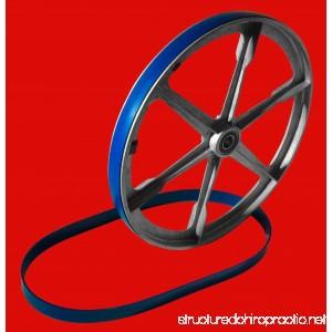 New Heavy Duty Band Saw Urethane 2 Blue Max Tire Set ULTRA .125 FOR SUMMIT 14 INCH BAND SAW NEW 2 TIRE SET - B07G2Q979Q