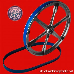 New Heavy Duty Band Saw Urethane 2 Blue Max Tire Set ULTRA FOR CRAFTSMAN 12432607 BANDSAW - B07G2S3MVW