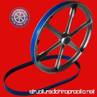 New Heavy Duty Band Saw Urethane 2 Blue Max Tire Set ULTRA FOR WALKER TURNER MODEL 20-842 - B07G2S2S1F