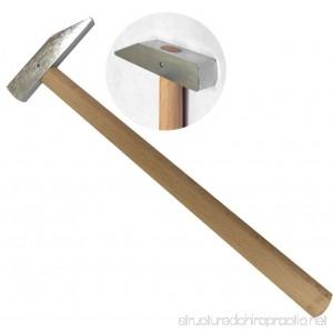 9 Inch Steel Head Chisel Hammer | Wooden Handle - B001CWHGA2