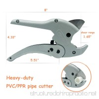 PVC/PPR Pipe And Tube Cutter  1-5/8-inch 42mm  Heavy Duty Pipe Cutter - B07D3ZPXDL