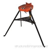 RIDGID 460-6 Portable TRISTAND Chain Vise Stand 36273 (Certified Refurbished) - B07CT8QMGF
