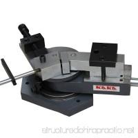 KAKA Industrial SBG-40 Heavy-Duty Universal Bender  High Capacity Flat Bar  Square Bar and Round Bar Metal Bender  Combination of Scroll  Radius and Angle Bending  High Precision Metal Bender - B015KGWXOY