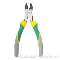 Berrylion Heavy Duty Wire Cutters  8-inch | All Purpose Diagonal Cutting Pliers  Dikes Cutters - B074S35W3D