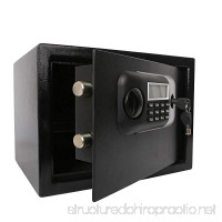 Dporticus Fire Resistant Safe,Electronic Digital Lock Safe,Cabinet Safes-0.5 Cubic Feet - B07G575295