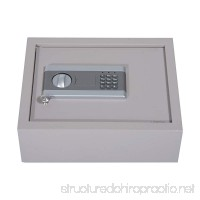 Festnight Top Opening Drawer Safe with Electronic Combination Lock Gray - B07B2T8D9F