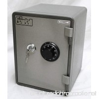 Gardall MS119-G-CK One Hour Vertical Microwave Style Fire Safe w/Key & Combination Lock Grey - B0041V3OUW