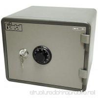 Gardall MS912-G-CK One Hour Horizontal Microwave Style Fire Safe w/Key & Combination Lock Grey - B0041V44BK