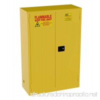 Jamco Products Inc BM45-YP Safety Flammable Cabinet  Two Door  Manual Close  43-Inch x 18-Inch x 65-Inch - B0027CT2U8