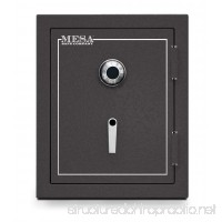 Mesa Safe MBF2620C All Steel Burglary and Fire Safe with Combination Lock 4.1-Cubic Feet Hammered Grey - B00EZS3YEW