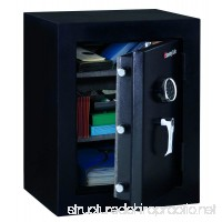 SENTRYSAFE EF3428E Executive Fire-Safe 3.4 ft3 21-3/4w x 19d x 27-3/4h Black - B0071X8V6E