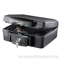 SentrySafe Fire Safe Waterproof Fire Resistant Chest.17 Cubic Feet Extra Small H0100CG - B00GE586CY
