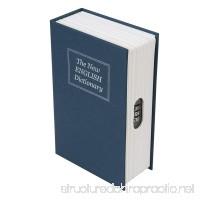Silverline Tools 534361 3-Digit Combination Book Safe Box - Blue - B071HFR87Q