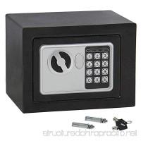 ZENSTYLE Security Safe Box with Digital Lock Solid Steel Construction Hidden Cabinet  Black - B07FLNK6BZ