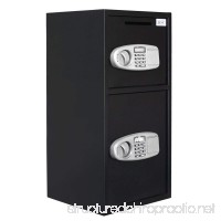 ZENY Large Digital Security Safe Box Double Door Depository for Money Gun Jewelry - B01I6JRJBE