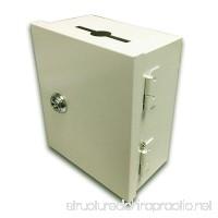 5x6x3 Wall Mount Key Card Key Drop Box Drop Slot Safe Cash Enclosure - B016CX1HZA