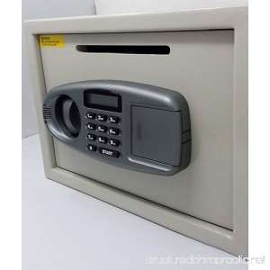 Depository Safes Electronic LCD Display Drop Safe with Tamper Alarm - B07BTC8WW2