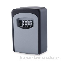Key Storage Lock Box 4-Digit Combination Code Storage Case Wall Mounted - B07DV876ND