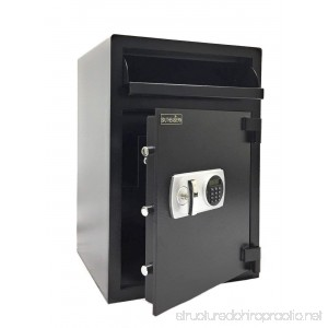 Southeastern F3020EILK Cashbag Drop Depository Safe with Quick Digital Lock with Back up Keys - B07DKSCBP9