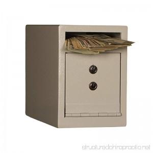 Tracker Safe DS090612-K Deposit Safe in Black with Key Lock - B07BZWY36F