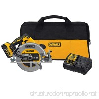 DEWALT DCS570P1 7-1/4 (184mm) 20V Cordless Circular Saw with Brake Kit - B06ZZYBD2D