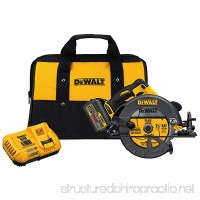 "DEWALT DCS575T1 FLEXVOLT 60V MAX Brushless Circular Saw with Brake and 1 Battery Kit  7-1/4"" - B01H9BLUO2"
