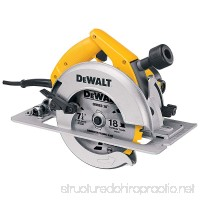 DEWALT DW364 7-1/4-Inch Circular Saw with Electric Brake and Rear Pivot Depth of Cut Adjustment - B00002231Y