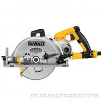 DWS535B 7-1/4 Worm Drive Circular Saw with Brake - B07BR8D713