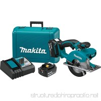 Makita XSC01T 18V LXT Lithium-Ion Cordless 5-3/8 Metal Cutting Saw Kit (5.0Ah) - B0719T9D5P