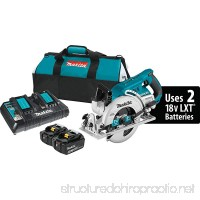 Makita XSR01PT 18V X2 LXT Lithium-Ion (36V) Brushless Cordless Rear Handle 7-1/4 Circular Saw Kit (5.0Ah) - B06XV27M88