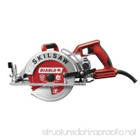 Skilsaw SPT77WML-22 7-1/4 Lightweight Worm Drive With Diablo® Carbide Blade - B017085US6