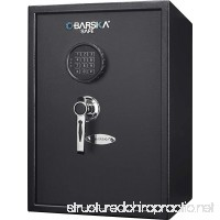 1.45 Cubic Ft Large Steel Security Keypad Safe Lock Cabinet 13 in x 13.75 in x 19.75 in - B07BX93JSL