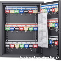 BARSKA 42 Position Key Cabinet with Key Lock  Black - B0794D1XLS