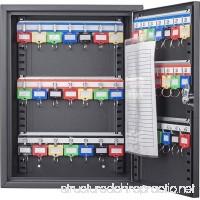 BARSKA 42 Position Key Cabinet with Key Lock Black - B0794D1XLS