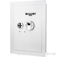 BARSKA Biometric Wall Safe White - B075SBRG7Q