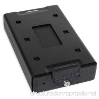 Bulldog Cases Car Safe with Key Lock Mounting Bracket and Cable in Black - B005CGNANG