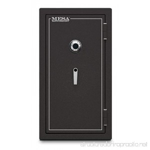 Mesa Safe MBF3820C All Steel Burglary and Fire Safe with Combination Lock 6.4-Cubic Feet Hammered Grey - B00EZS3YB0