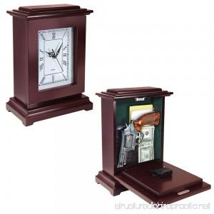 Peace Keeper Tall Rectangular Working Clock Gun Concealment Diversion Safe - B00YWDK7KE