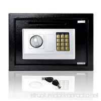 SereneLife Drop Box Safe Box | Safes & Lock Boxes | Front Loading Safe Cash Vault Drop Lock | Safe Security Box | Digital Safe Box | Money Safe Box | Steel Alloy Drop Safe Includes Keys (SLSFE342) - B01L7U3SXM