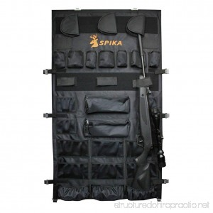 SPIKA Large Pistols Handguns Rifle Gun Safe Door Panel Organizer (28W48H) - B06X9K829V