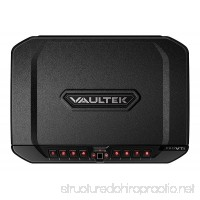 Vaultek PRO VTi Full-Size Biometric Handgun Safe Smart Multiple Pistol Safe with Auto-Open Lid and Rechargeable Battery - B06XS314GD